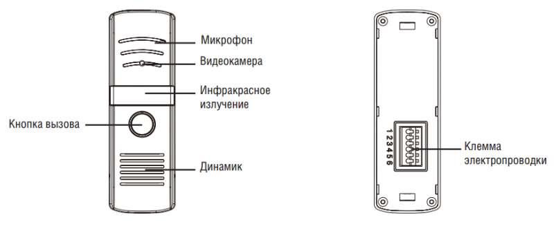 Domofon konstrukciya