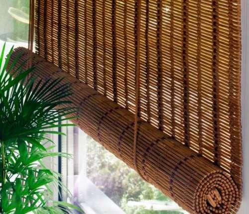 бамбуковые рулонные шторы Севастополь
