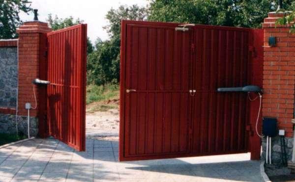 распашные ворота Севастополь цена