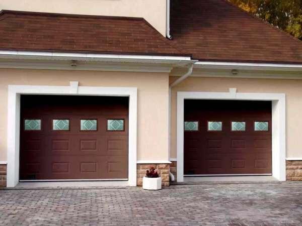 купить гаражные секционные ворота в Севастополе